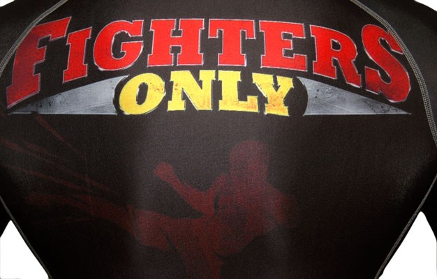 Fighters Only Logo Fighters Only Rash Guard Long