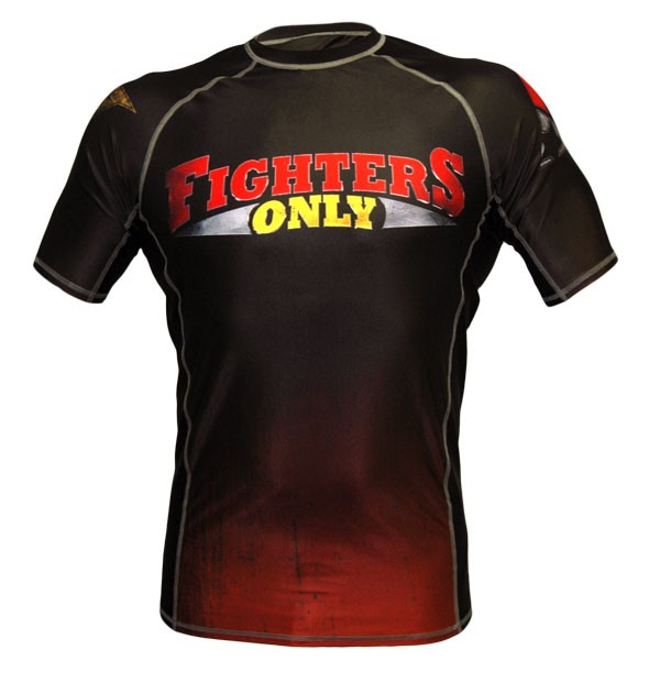 Fighters Only Logo Fighters Only Rash Guard Short