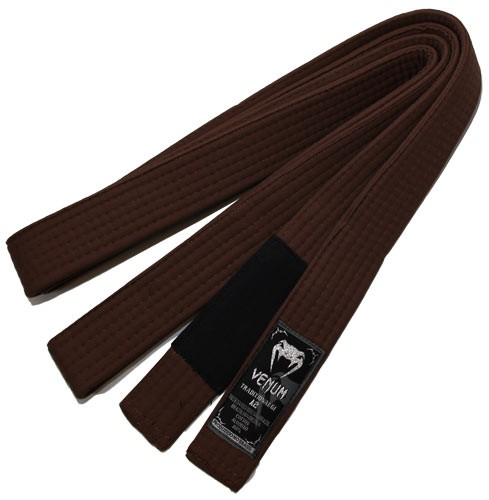 venum quot bjj belt quot brown