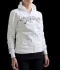 TapouT Womens Queen French Terry Hoodie White