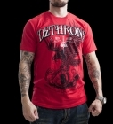 Dethrone Royalty Eagle Has Landed T-shirt Red