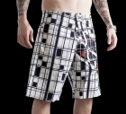 TapouT Super Stripe White Boardshorts