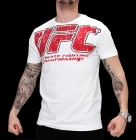 UFC Real White/Red tee