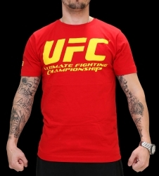 UFC Supporter Red/Yellow tee