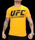 UFC Supporter Yellow/Black tee
