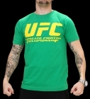 UFC Supporter Green/Yellow tee
