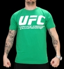 UFC Supporter Green/White tee