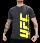 UFC Ultimate Charcoal/Yellow tee