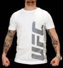 UFC Ultimate White/Charcoal tee