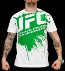UFC Splatter White/Green tee