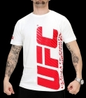 UFC Ultimate II White/Red tee