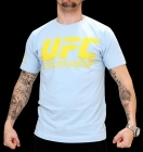 UFC Supporter Pale Blue/Yellow tee