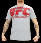 UFC Real Grey/Red tee