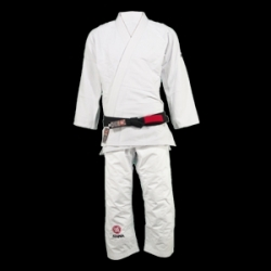 Atama Single Weave BJJ Gi White