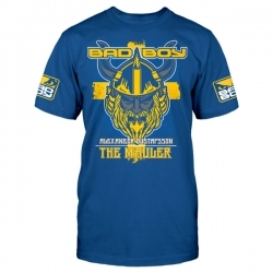 Bad Boy Alexander Gustafsson Walk In T-shirt Blue