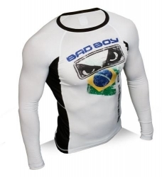 Bad Boy Brazil Rash Guard Long Sleeve