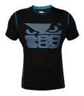 Bad Boy Carbon Rash Guard Short Sleeve Black/Neon Blue