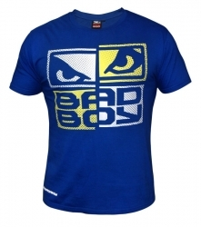 Bad Boy Face Puncher T-shirt Royal Blue