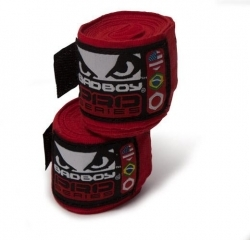 Bad Boy Hand Wraps Stretch 2,5 m red (pair)