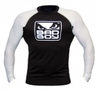 Bad Boy MMA Rash Guard Long Sleeve Black/White