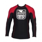 Bad Boy Pro Series Rash Guard Long Sleeve Black/Red