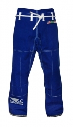 Bad Boy BJJ Gi Pants Blue (Rip-Stop)