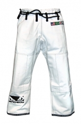 Bad Boy BJJ Gi Pants White (Rip-Stop)