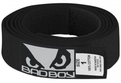 Bad Boy BJJ Belt Black