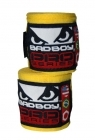 Bad Boy Hand Wraps Stretch 3,5 m yellow (pair)