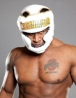 Fighters Only Full Face Head Guard White