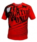 Fighters Only Splatter T-shirt Red