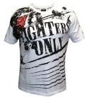 Fighters Only Splatter T-shirt White