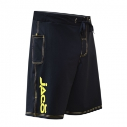 Jaco Hybrid Training Shorts Black/Sugafly Yellow