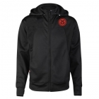 Jaco Team Convertible Hoodie/Jacket Black/Red