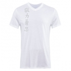 Jaco Kanji II Performance V Neck t-shirt White