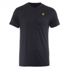 Jaco Tenacity Performance V Neck t-shirt Black/SugaFly Yellow