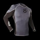 Jaco Rashguard Long Sleeve Grey/Black