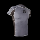 Jaco Rashguard Short Sleeve Grey/Black