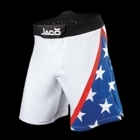 Jaco USA Resurgence MMA Fight Shorts White