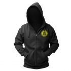 Jaco Team Hoodie Black/SugaFly Yellow