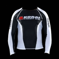 Koral Rash Guard Long Sleeve Black