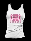 Fight Chix Live Laugh Love Fight tank