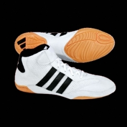 Adidas Mat Hog Wrestling Shoes, white