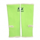 Nationman Ankle Support Free Size Lime Green/White (pair)
