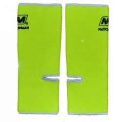 Nationman Ankle Support Free Size Yellow/White (pair)