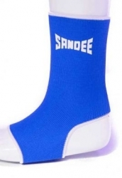 Sandee Ankle Support Free Size Blue/White (pair)