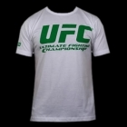 UFC Supporter White/Green tee