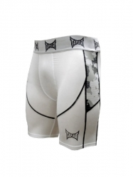 TapouT Camo Elite Compression Shorts White