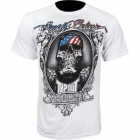 TapouT Chael Sonnen American Gangster White t-shirt