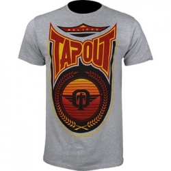 TapouT Ryan Bader Sun Devil Grey t-shirt